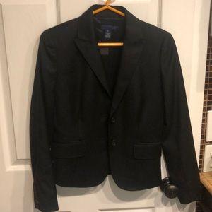 Black wool J. Crew blazer